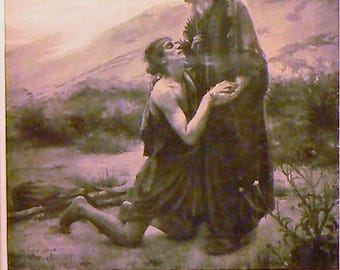 1936 The Prodigal Son Matted Vintage Print