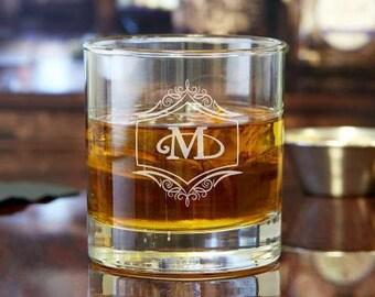 Custom Rocks Glass | Whiskey Glass | Scotch Glass | Custom Gift | Engraved Glass | Personalized Glass | Cocktail Glass | Gift for Him