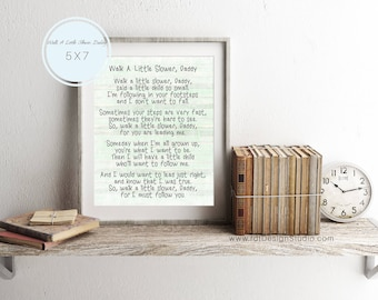 Father's Day Poem, Father's Day, Father Print, Newborn Gift, First Father's Day, New Father Gift, Christmas Gift, Instant Download, D68-C8