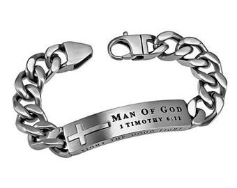 "Neo Bracelet ""Man Of God"""