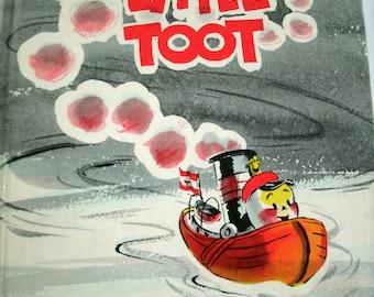 Little Toot, Hardie Gramatky, Weekly Reader Children's Book Club, Vintage 1930s, 1939, 1960s, 1970s