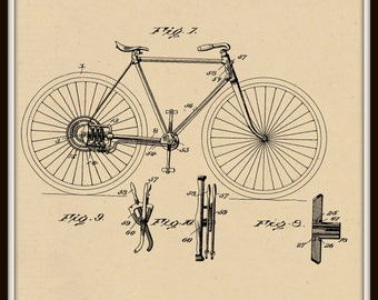 Changeable Gear for Bicycles Patent #707359 dated August 19, 1902.