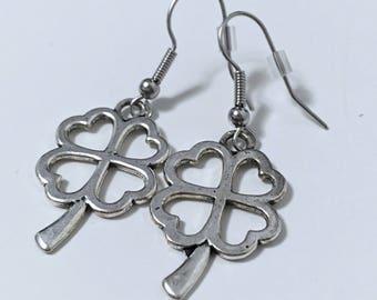 Shamrock earrings