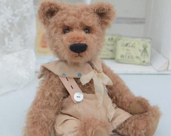 """Vintage style teddy bear - """"Bertie"""" - hand made mohair bear"""