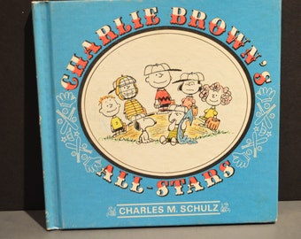 1966 First Edition Charlie Brown's All-Stars by Charles M. Schulz