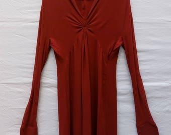 SYBILLA Silk Red Dress