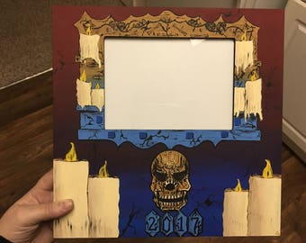 HHN27 Tribute Picture Frame | Halloween Horror Nights 2017 | Universal Studios Orlando #HHN27
