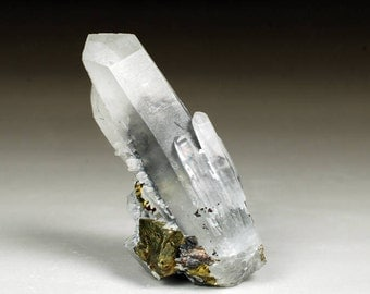Clear Quartz Point With Big Sphalerite Phantom, Clear Quartz Points. Clear Quartz Crystal, Clear Quartz Crystals, Sphalerite Phantom, Gift