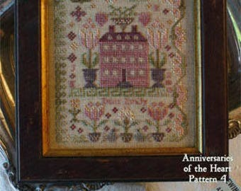 Pink HIll Manor - Cross Stitch pattern - Blackbird Designs - 2010 - New Old Stock