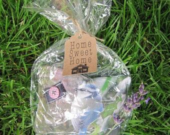 Lavender Sachet, Lavender in handmade, Christmas Gift, Blue Tit, Birds in Handmade, Homedecoration, Christmas in July
