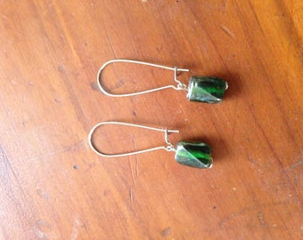 Emerald Green Dangles