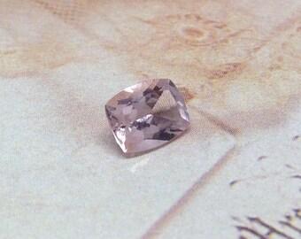 Morganite 8x6mm 1.2 Carat Rectangle Cushion Cut Salmon Pink Peach Loose Gem Unmounted Gemstone For Engagement Ring Wedding Wholesale Tested