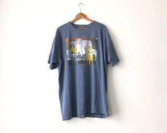 DOG PAINTING SHIRT // 90s // XxL // Dog Shirt // Dog T-Shirt // Painting Shirt // Dog Shirt // Dog T-Shirt // Art // Art Shirt // Painting