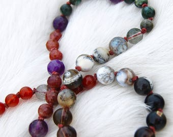 Psychic Protection Crystalline Mala
