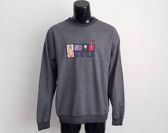 Vintage Golf Sweater Sz. XL