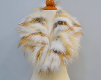 Large Real Fur Scarf F698