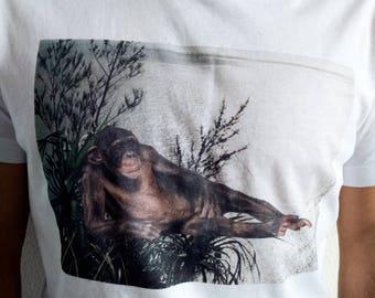 Chilling Monkey T