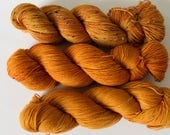 Hand-dyed Sock Yarn - That pumpkin drink (multiple bases)