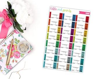 Concert Ticket Planner Stickers for the Erin Condren Life Planner, Concert Sticker, Functional Planner Sticker - [P0510]