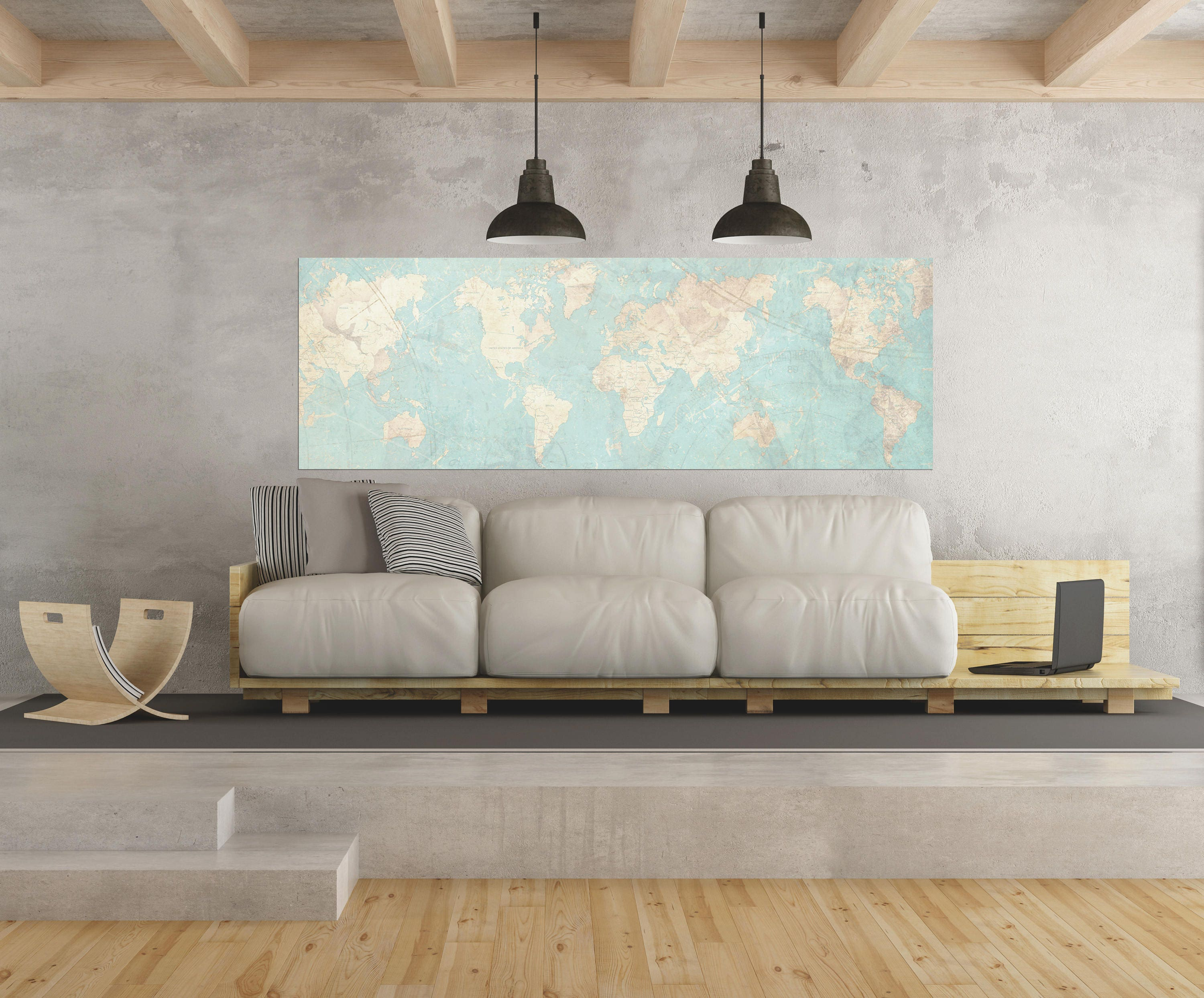 World map canvas print vintage map world map horizontal extra world map canvas print vintage map world map horizontal extra large wall art vintage map antique oversized pastel map huge wall art poster sciox Images