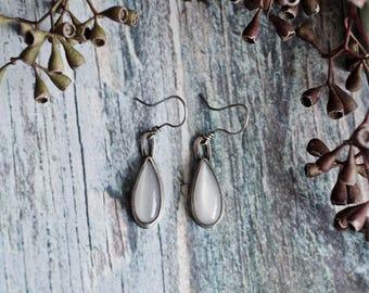 Moonstone Sterling Silver Earrings | Silver Earrings |Statement Earrings | Bohemian Earrings | Everyday Earrings | Moonstone Jewelry