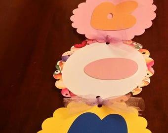 Disney Tsum Tsum Inspired Birthday Banner