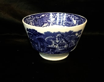 A perfect George jones abbey ware transferware bowl