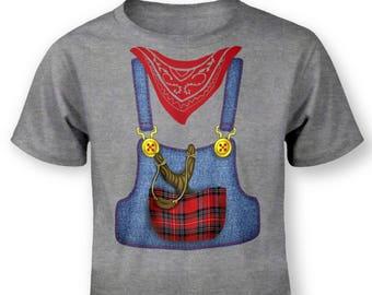 Hillbilly Costume baby t-shirt