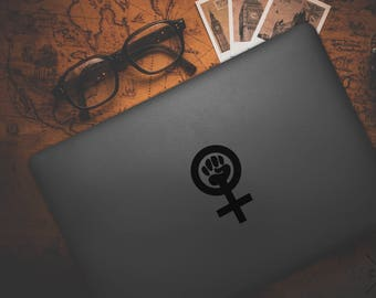 Feminist Sticker, Feminist Decal, Vinyl Decal, Laptop Stickers, Laptop Decal, Feminism Decal, Feminism Stickers, feminist vinyl decal
