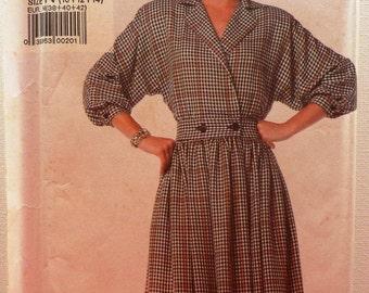 Wrap Dress Sewing Pattern Simplicity 7862 Uncut Size 10, 12, 14