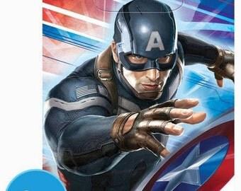 Captain America ''Winter Soldier'' Favor Bags 8ct