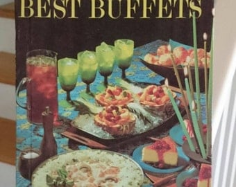 Vintage Better Homes and Gardens Best Buffets/Vintage Cookbook/Retro Cookbook/1963 Cookbook