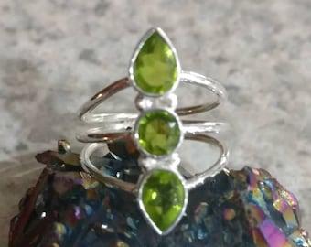 Peridot Ring Size 7