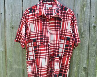 Men's shirt // Vintage Shirt // Retro Shirt // Towne and King Ltd Shirt