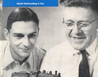 model Railroader magazine February 1951 Very Good Condition