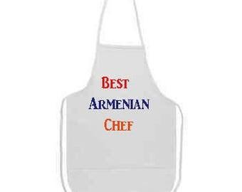 Best Armenian Chef Apron Fast Shipping