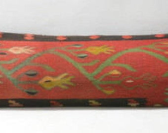 Kilim pillow 91 x22 cm 35.4 x 8.6 inc. PILLOW  for WINDOWS and DOORS