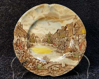 Johnson Brothers Olde English Countryside Bread Plate EXCELLENT