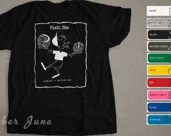 """Pearl Jam 90s """"Marriage Of The Elusive Ones"""" """"Boundless"""" Double Sided T-shirt, Grunge, Rock, Alternative Music"""