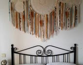 dreamcatcher, dream catcher, boho dreamcatcher, beig dreamcatcher, sweet dreams, beig dream catcher, wall hangings, feather dreamcatcher,