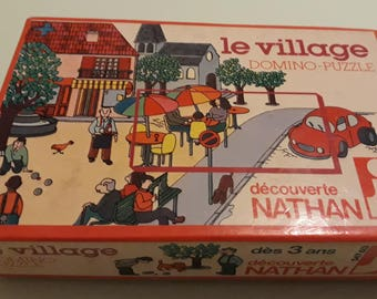 The puzzle vintage village/Domino / Nathan 1979