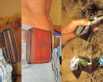 Ultra-compact wallet. HD. Vintage