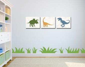 Dinosaur Nursery - Dinosaur Decor - Dinosaur Wall Art - Dinosaur Nursery Art - Nursery Decor - Baby Boy Nursery - Dinosaur Print - Printable