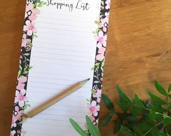 DL Shopping List Notepad