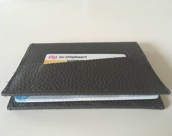 Leather & Felt Passport pouch