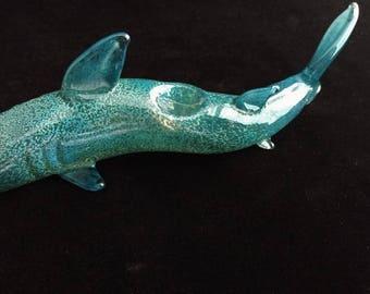 Glass Shark Pipe
