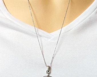 Men's Necklace - Men Anchor Necklace - Men Silver 925 Necklace - Men's Jewelry - Men's Gift - Men Jewelry - Men Necklace - Sailor Gift -Guys