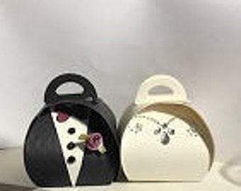 Bride and Groom Party Favor Treat Boxes (76)