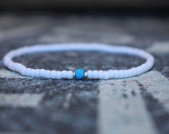 Men's bracelet with Turquoise