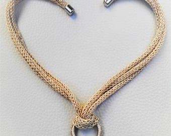 Pure and Simple ivory necklace